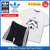 adidas × STAR WARS SW Storm Trooper Set Tee & Short Originals S14391画像