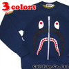 A BATHING APE SHARK CREWNECK 1A80-113-014画像