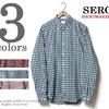 SERO ターチンチェックボタンダウンシャツ SR-01TC画像