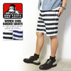 BEN DAVIS SUMMER CODE BORDER SHORTS G-5580035画像