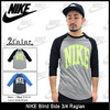 NIKE Blind Side 3/4 Raglan 643114画像