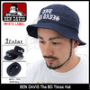 BEN DAVIS The BD Times Hat WHITE LABEL BDW-9413画像