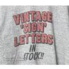 LETTERS 8 × FilMelange VINTAGE プリントTシャツ画像