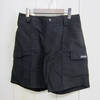 MOCEAN CARGO SHORTS BLACK画像