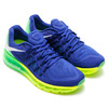 NIKE AIR MAX 2015 DEEP ROYAL BLUE/WHITE-GREEN GLOW 698902-407画像