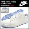 NIKE TENNIS CLASSIC ULTRA LEATHER Ivory/Aluminum Limited 749644-101画像