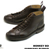 Tricker's M6077 Monkey Boots 7Hole Lace Up Boots Espresso Burnished画像