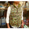"RAINBOW COUNTRY × PORKY'S LEATHER DOWN VEST ""Duck Hunter Special""画像"