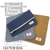 ROUND HOUSE CLUTCH BAG画像