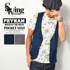 PHYNAM × SWING POCKET VEST画像