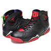 NIKE AIR JORDAN 7 RETRO BLCK/UNVRSTY RD-GRN PLS-CL GRY 304775-029画像
