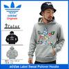 adidas Originals Label Sweat Pullover Hoodie AC0485/AC0486画像