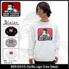 BEN DAVIS Gorilla Logo Crew Sweat I-5780307画像