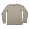 LOOP & WEFT ムラ糸 吊り編み天竺 クラシックリブ ロングスリーブ Tシャツ LRC1015画像