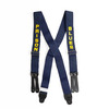 PRISON BLUES Suspenders Flat Standard Leather End画像