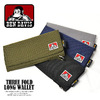 BEN DAVIS THREE FOLD LONG WALLET BDW-9076画像