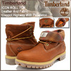 Timberland ICON ROLL TOP Leather And Fabric Claypot Highway With Pendleton 9641B画像