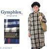 Gymphlex Lady's #J-1176 Viyella Check L/S Wide Shirts OnePiece画像