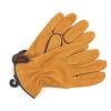 GEIER GLOVE CO. #250ES Deerskin Glove with Leather Binding画像