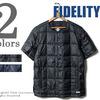 FIDELITY パッカブル インナーダウンS/Sシャツ F15FO-03-SS画像