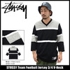 STUSSY Team Football Jersey 3/4 V-Neck 114828画像