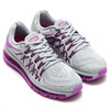 NIKE WMNS AIR MAX 2015 WOLF GREY/VIVID PURPLE-BLACK 698903-015画像