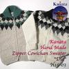 """Kanata Hand Made Zipper Cowichan Sweater """"Dia""""画像"""