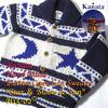 "Kanata Hand Made Button Cowichan Sweater ""Star & Moon & Sun""画像"