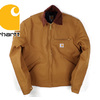 Carhartt J001 Duck Detroit Jacket Blanket-Lined画像
