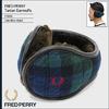 FRED PERRY Tartan Earmuffs JAPAN LIMITED F19656画像