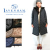 LAVENHAM BRUNDON Fur Lady's Hooded Quilting Coat画像