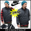 NIKE Air Quilt Zip Off Varsity JKT 689377画像