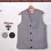Ortega's Solid Square Vest画像