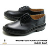 "Tricker's Plaintoe Shoes/m5636 ""Woodstock"" Dainite Studded Sole Black Calf M5636画像"
