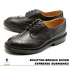 "Tricker's Brogue Shoes/m5633 ""Bourton"" Dainite Studded Sole Espresso Burnished M5633画像"