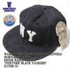 "EBBETS FIELD FLANNELS × WAREHOUSE DENIM BASEBALL CAP ""NEWYORK BLACK YANKEES""画像"