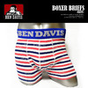 BEN DAVIS BEN DAVIS BOXER BRIEFS -NAVY- BDU-0005画像