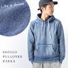 CORISCO INDIGO PULLOVER PARKA 136117画像