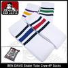 BEN DAVIS Skater Tube Crew 4P Socks 188-0007画像