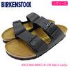 BIRKENSTOCK ARIZONA BIRKO-FLOR Black Ladys 051793画像