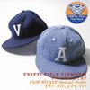 Ebbets Field Flannels BASEBALL CAP SUN HOUSE Special Order EBF-A16/EBF-V16画像