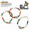 go slow caravan × Karen KAREN MIX BEADS CONCHO BRACELET 342403画像