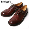 Tricker's M7195 Cap Toe Country Shoes BURGUNDY画像