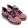 NIKE WMNS FLYKNIT MAX CONCORD/BLACK-GAMMA BLUE/PINK PAW/BRIGHT CITRUS 620659-404画像