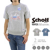 Schott COTTON S/S SWEAT EAGLE 3163023画像