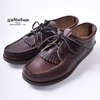 YUKETEN BLUCHER with KILTIE w/camp sole CXL BROWN画像