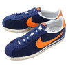 NIKE CLASSIC CORTEZ NYLON royal blue/bright mandarin-dark purple dust-sail 807472-483画像