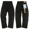 PRISON BLUES Men's Work Jean Rinsed Black画像