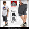 BEN DAVIS Sweat Short WHITE LABEL BDW-5542画像