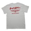 Langlitz Leathers 6oz 丸胴ボディー Tシャツ TYPE-LL236画像